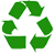 recycling logo mobile